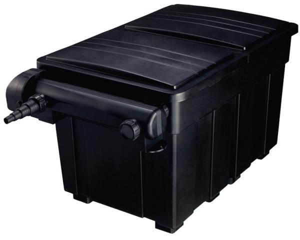 Aquaforte meerkamerfilter 12000 met 18 watt uvc daruma koi for Filtro x laghetto