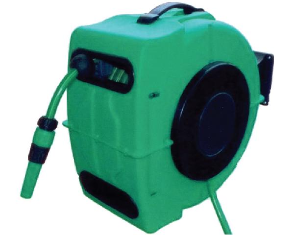 Automatische muurhaspel groen