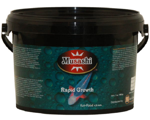 rapid growth musashi rapid growth 4 5 mm 5 liter