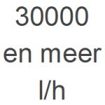 30.000 en meer l/h