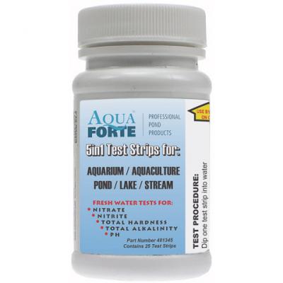 Aquaforte teststrips