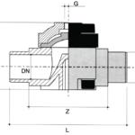 PVC membraanafsluiter 2