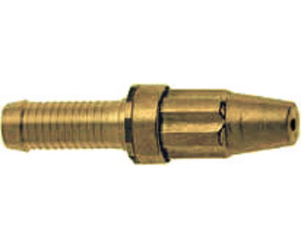 Messing handsproeier Type 80 slang