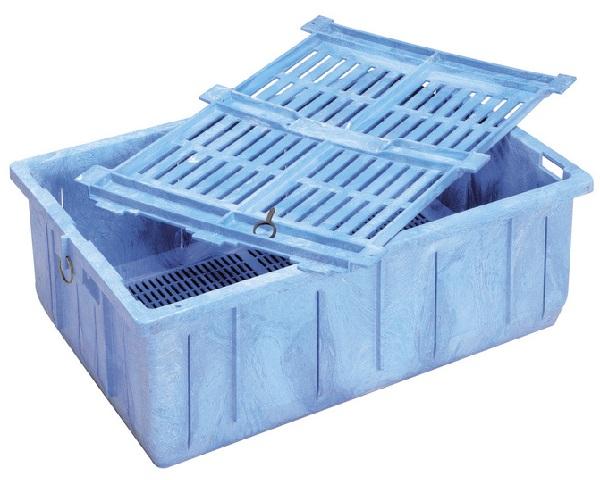 FLOATING KOI BASKET - BLUE