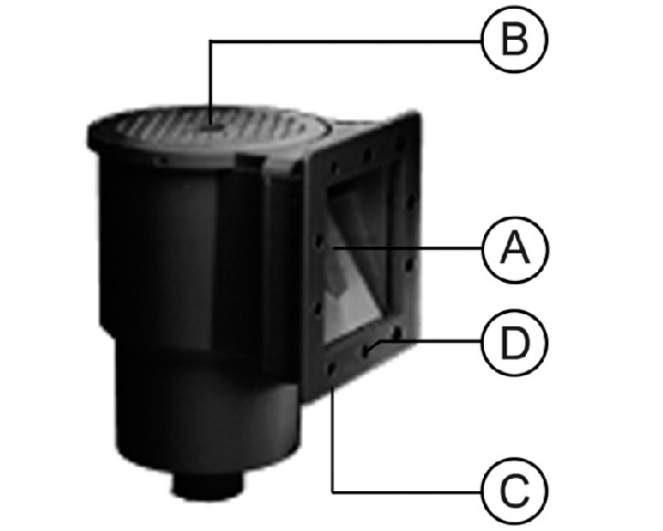 Onderdelen Skimmer