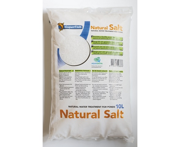 SF POND NATURAL SALT BAG 10 LTR