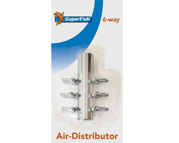 STAINLES AIR DISTRIBUTOR WITH 6 OUTLETS