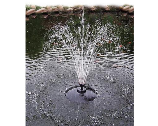 Drijvende fontein