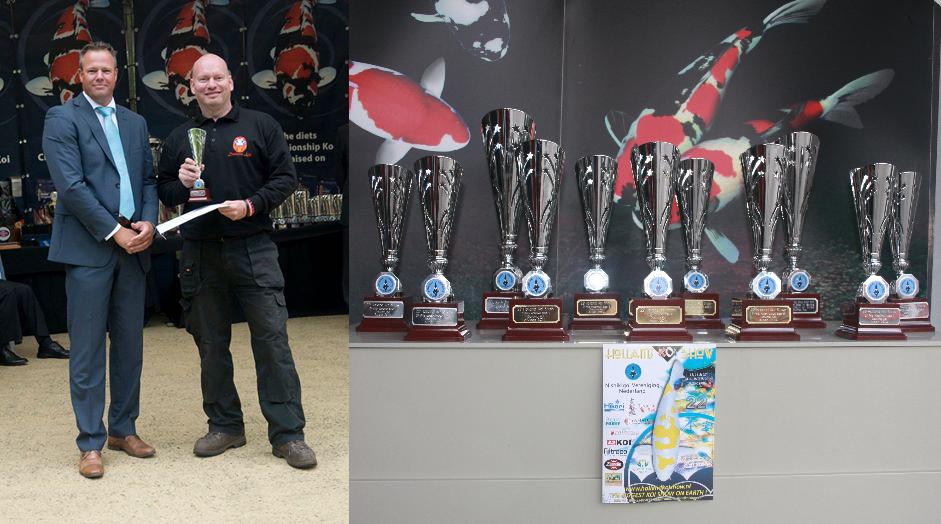 Resultaten van onze vissen op de Holland Koi Show 2014