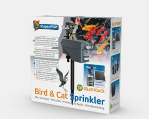 SF bird cat sprinkler